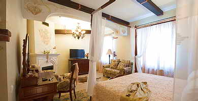 Ukraine Odessa Frederic Koklen Hotel Deluxe Junior Suite with fireplace, one room (32 sq.m.)