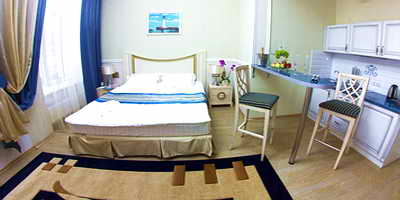 Ukraine Odessa Metro Hotel Apartments Apartments, one room with kitchen zone (27 m.sq)