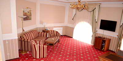 Ukraine Odessa Mozart Hotel De-Luxe with jacuzzi, two rooms (48 m.sq)