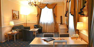 Ukraine Odessa Mozart Hotel De-Lux-Apartments, with sauna and jacuzzi (62 m.sq)